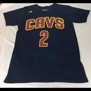 Kyrie Irving Cleveland Cavs Adidas T-Shirt USED